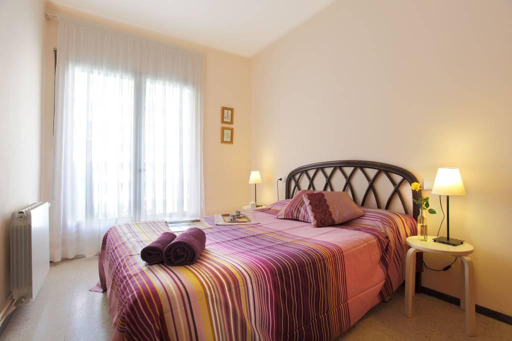 alquiler piso blanes - habitación matrimonio